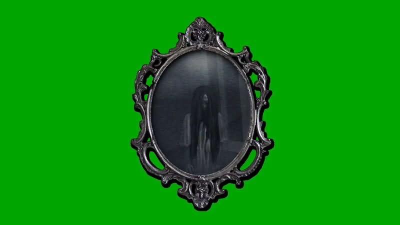绿屏抠像阴森恐怖的幽灵镜子.jpg
