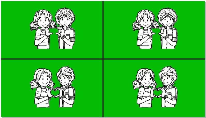绿屏抠像卡通男女情侣.jpg