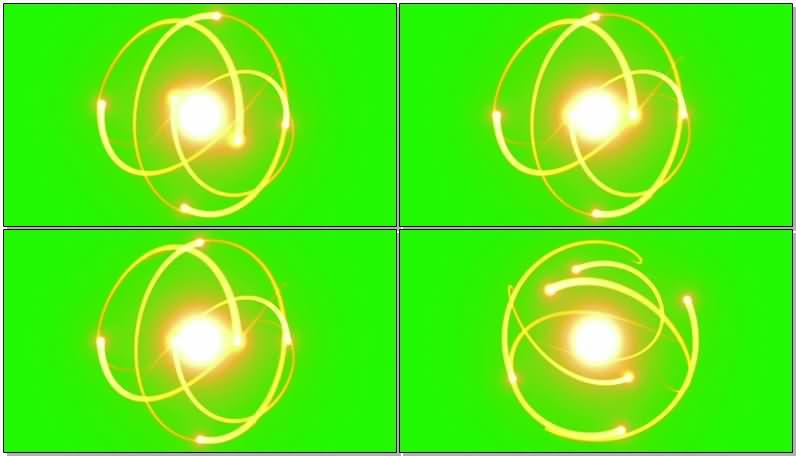 绿屏抠像金色光圈光环.jpg
