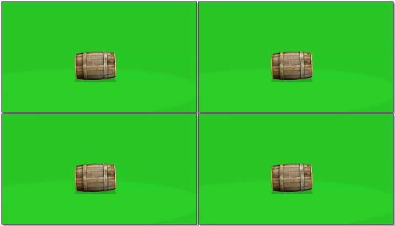 绿屏抠像滚动的木桶.jpg