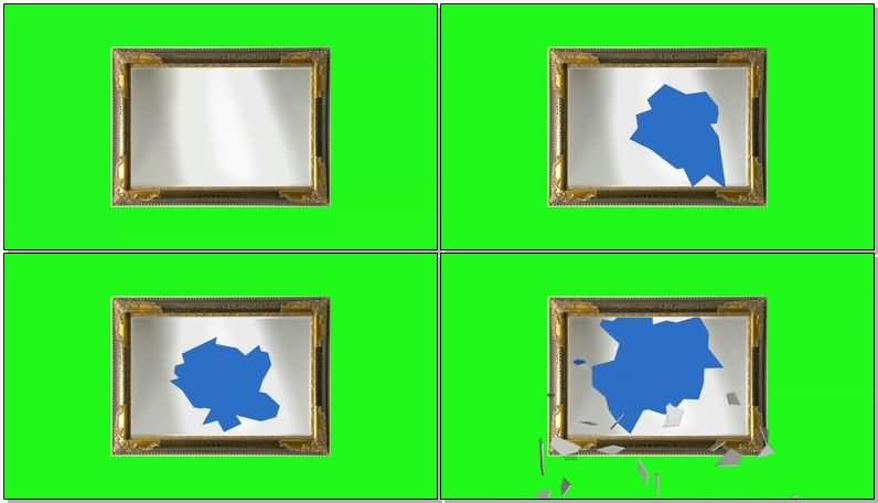 绿屏抠像破碎的镜框.jpg