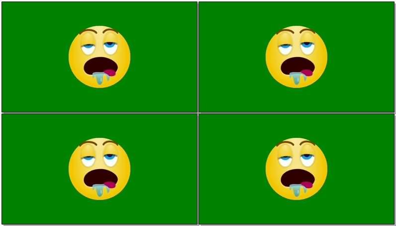 绿屏抠像打瞌睡的黄色表情.jpg