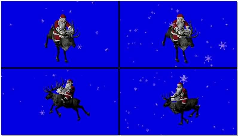 绿屏抠像骑麋鹿的圣诞老人.jpg