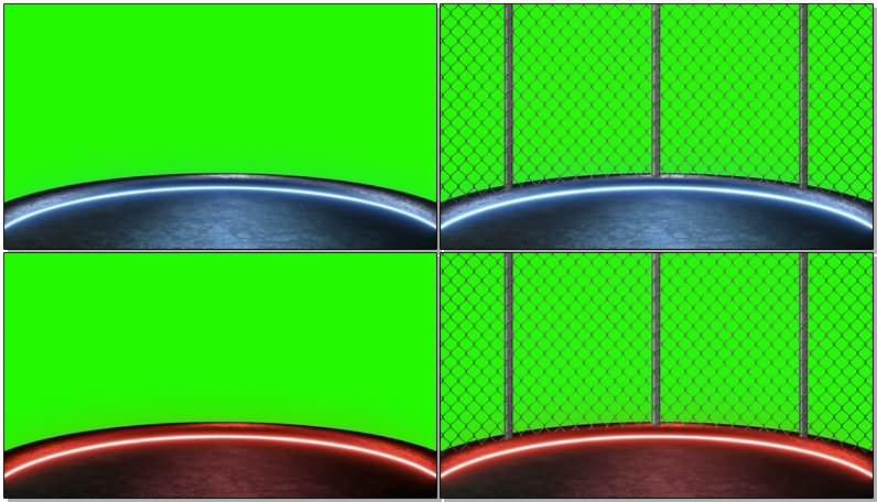 绿屏抠像霓虹灯舞台场地.jpg