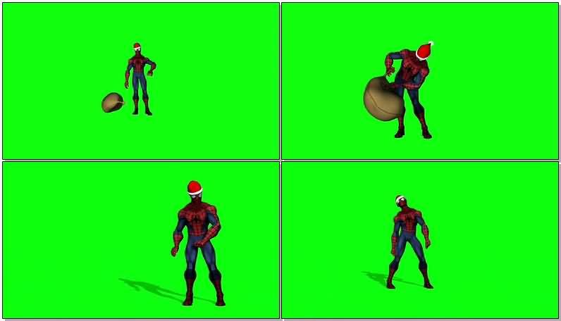 绿屏抠像扮圣诞老人的蜘蛛侠.jpg
