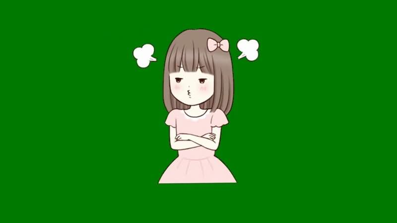 绿屏抠像生气的女孩.jpg