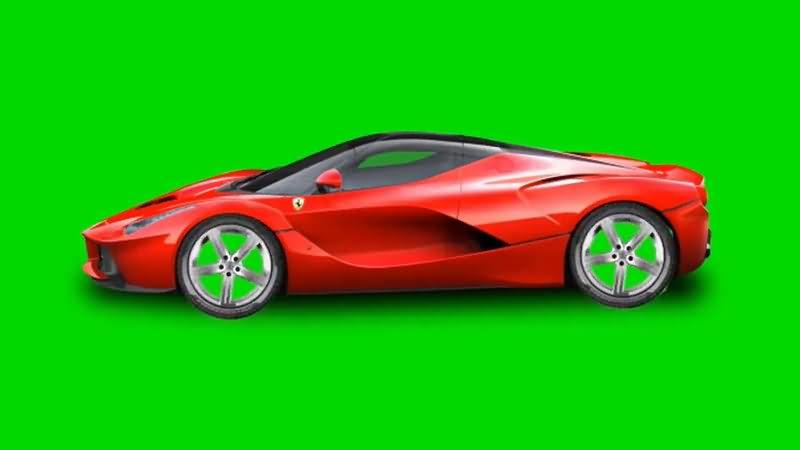 绿屏抠像红色轿车.jpg