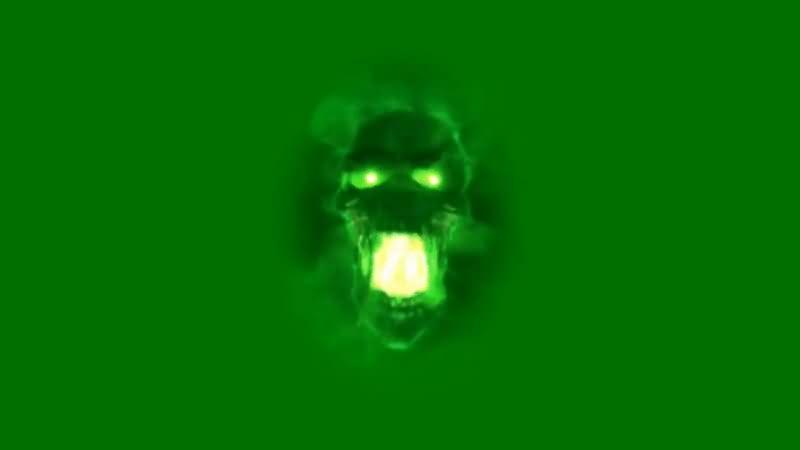 绿屏抠像绿色骷髅头.jpg