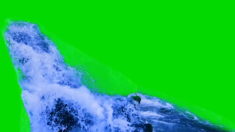 [4K]绿屏抠像瀑布小溪.jpg