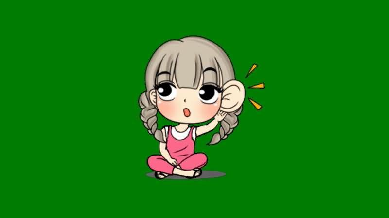 绿屏抠像窃听的小女孩.jpg