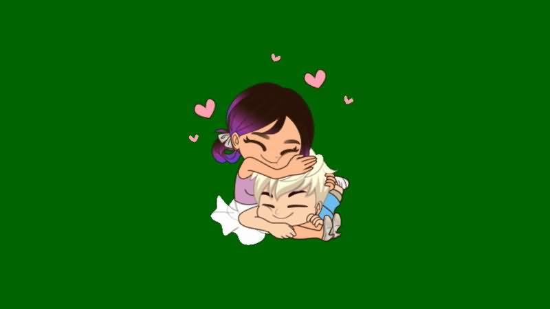 绿屏抠像热恋的情侣.jpg