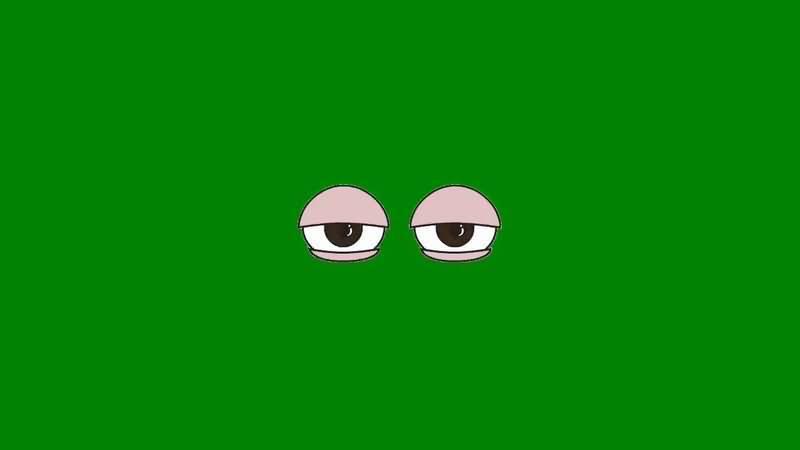 绿屏抠像懒散的眼睛.jpg