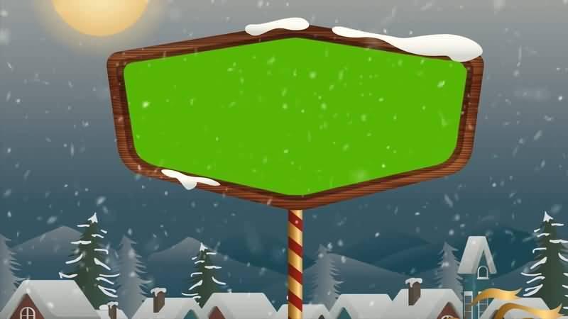 [4K]绿屏抠像大雪中的标志牌.jpg