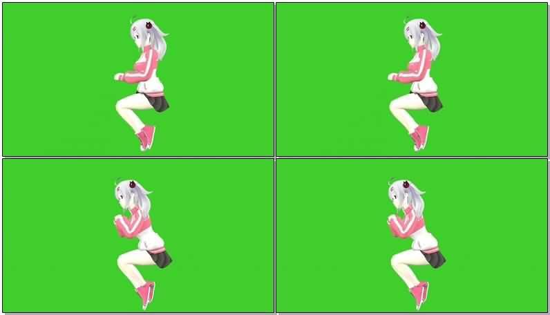 绿屏抠像坐姿小女孩.jpg