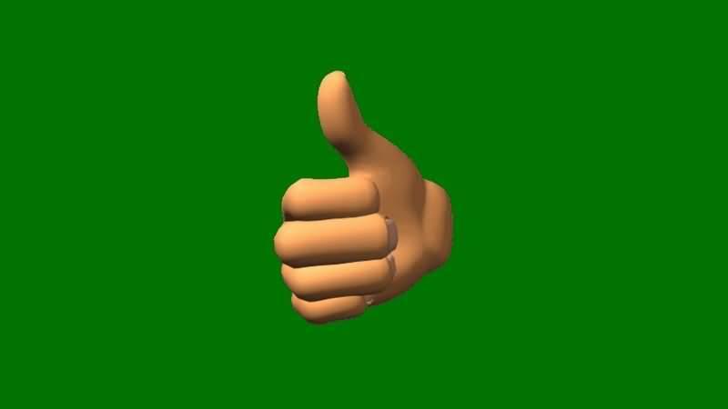 绿屏抠像真棒竖拇指手势.jpg