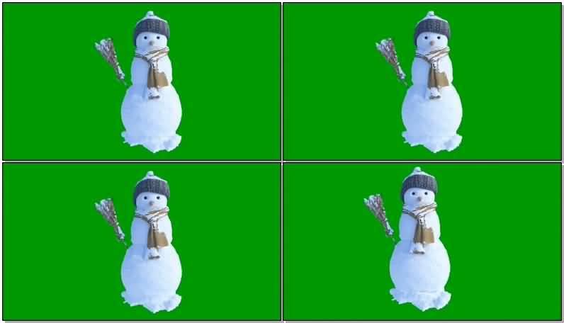 绿屏抠像会动的雪人.jpg