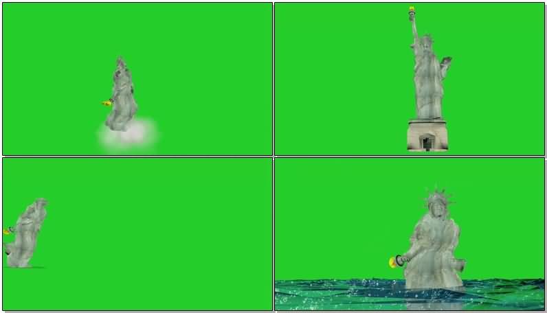 绿屏抠像活动的自由女神雕像.jpg