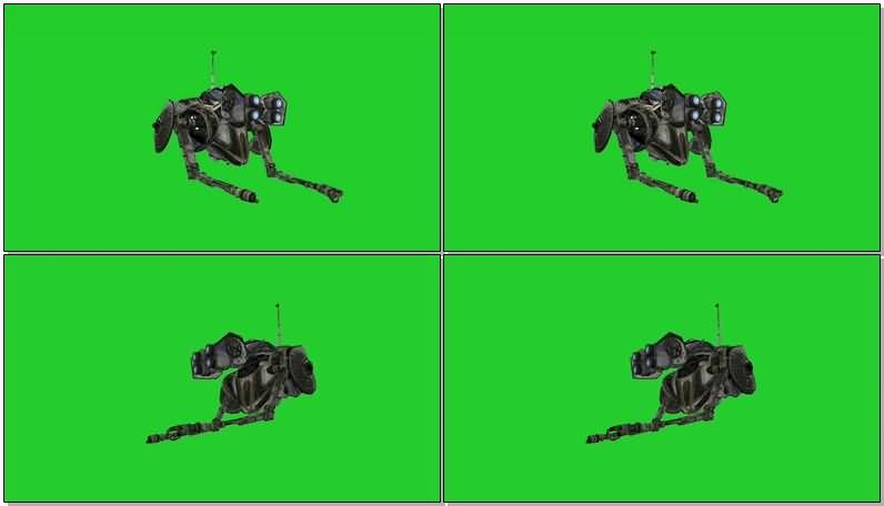绿屏抠像工作的微型机器人.jpg