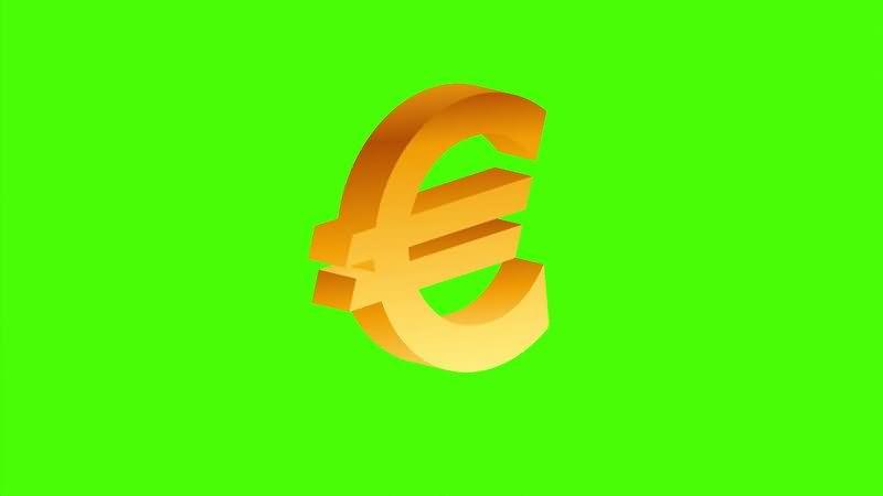 [4K]绿屏抠像欧元标志.jpg