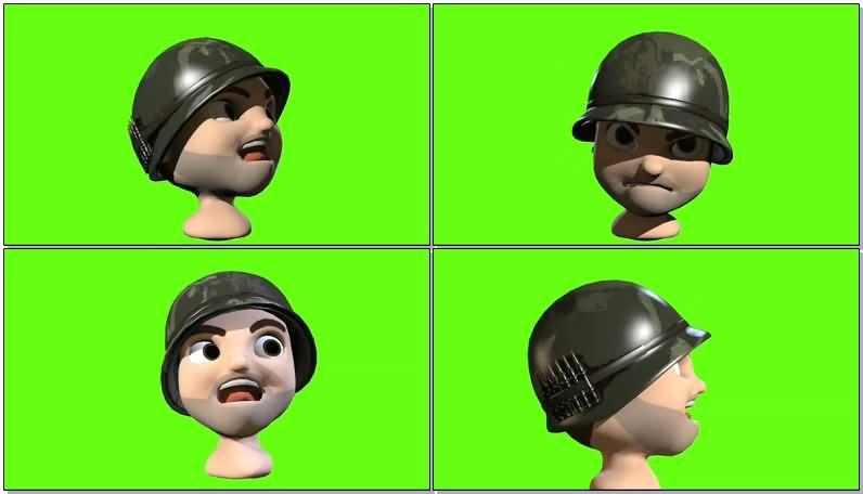 绿屏抠像卡通士兵.jpg