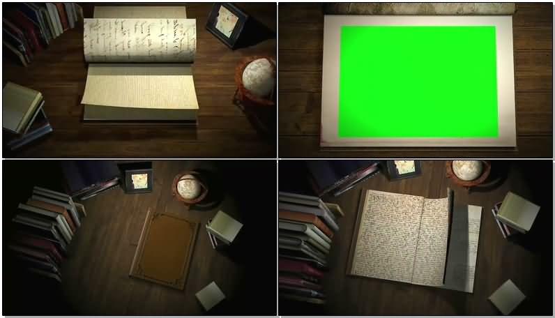 绿屏抠像翻开的书本.jpg