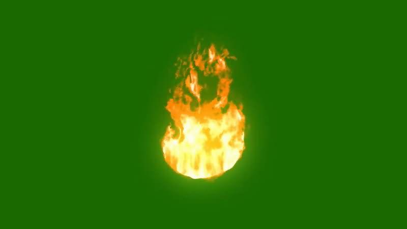 绿屏抠像燃烧的火团.jpg