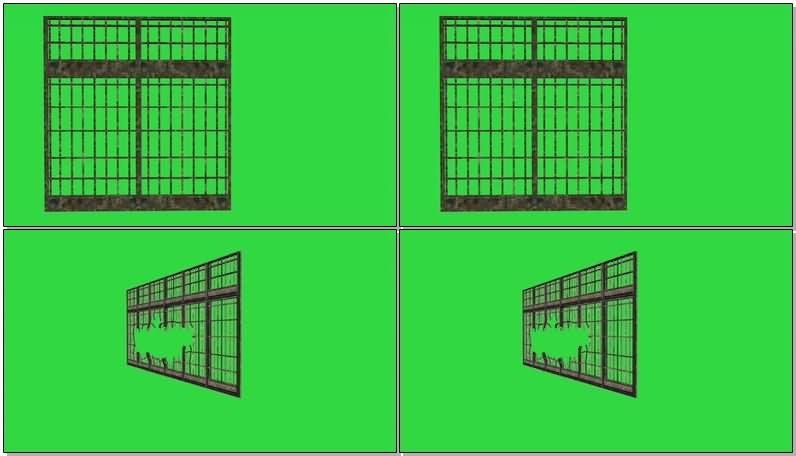 绿屏抠像移动的铁门.jpg