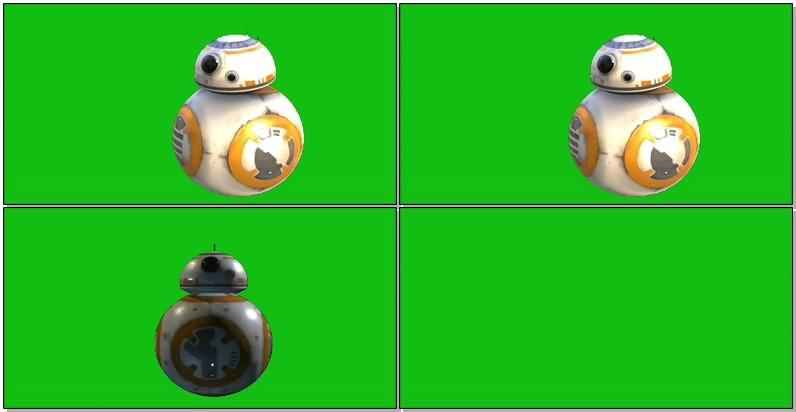 绿屏抠像星球大战机器人BB-8.jpg