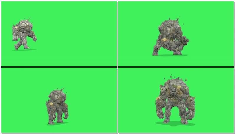 绿屏抠像岩石怪物巨人.jpg