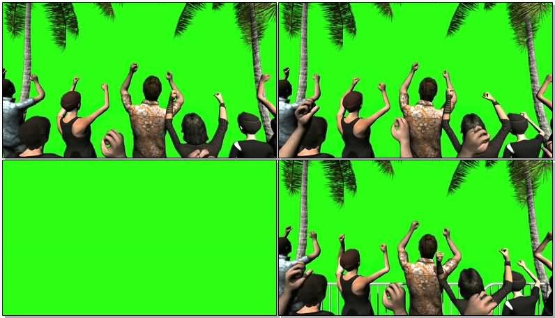 绿屏抠像欢呼的人群.jpg