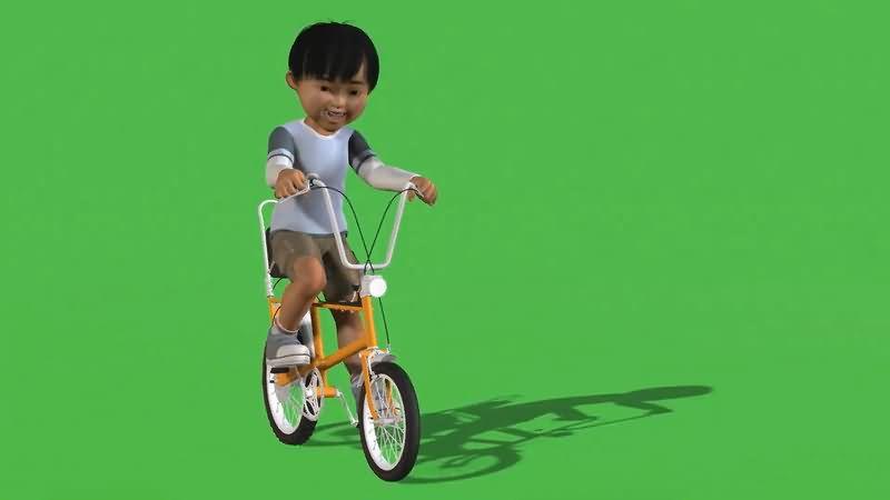 绿屏抠像骑车的男孩.jpg