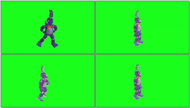 绿屏抠像跳舞的卡通狗.jpg