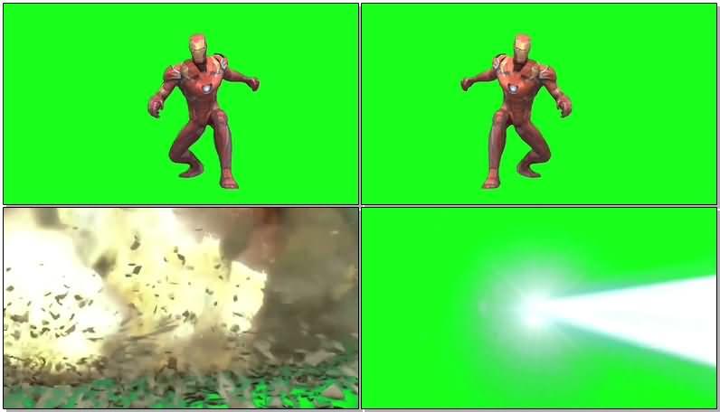 绿屏抠像钢铁侠纳米战甲攻击.jpg