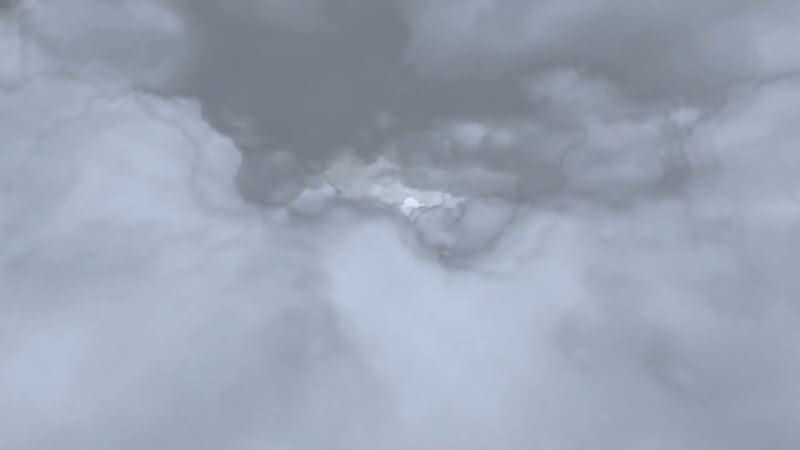 空中云层穿梭效果视频素材