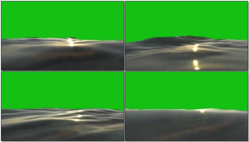 绿屏抠像波浪翻滚的海面.jpg