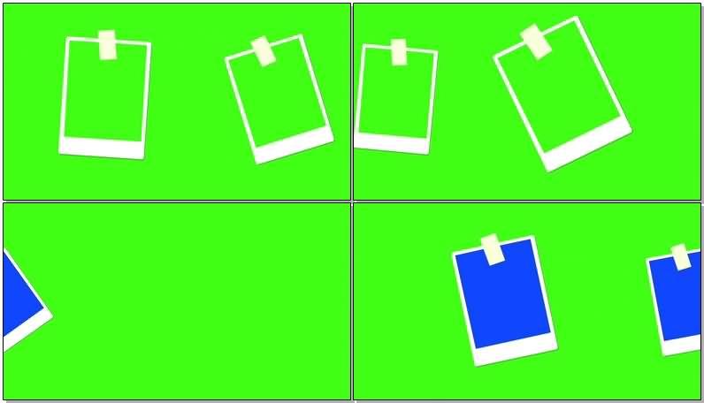 绿屏抠像便签条视频素材