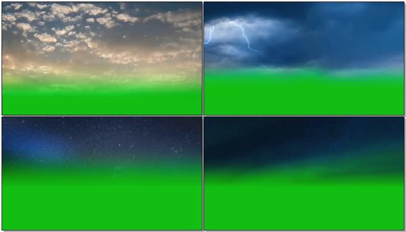 绿屏抠像天空闪电星空.jpg