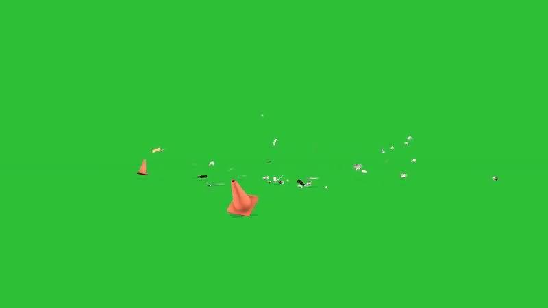 绿屏抠像被风吹乱的杂物垃圾.jpg