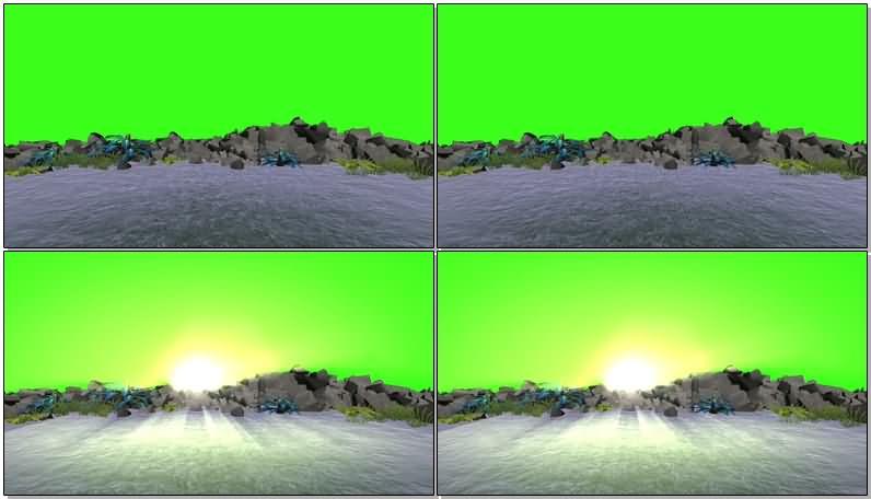绿屏抠像海滩夕阳.jpg