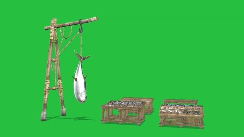 绿屏抠像卖鱼的摊位.jpg