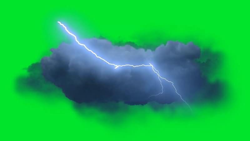 绿屏抠像闪电积雨云层.jpg