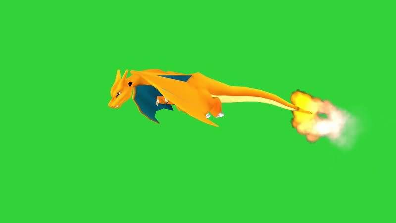 绿屏抠像神奇宝贝喷火龙.jpg