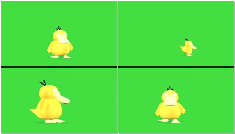 绿屏抠像卡通小黄鸭.jpg