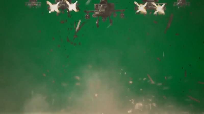 绿屏抠像飞机群扫射攻击.jpg