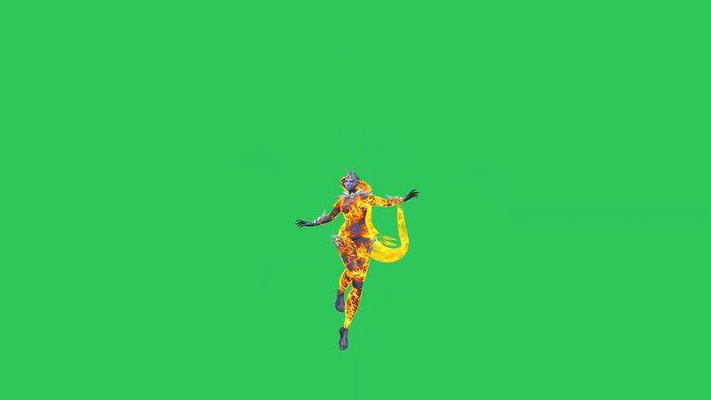 绿屏抠像从天而降的火精灵.jpg