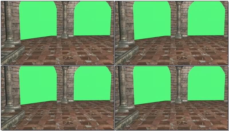 绿屏抠像圆形宫殿建筑.jpg