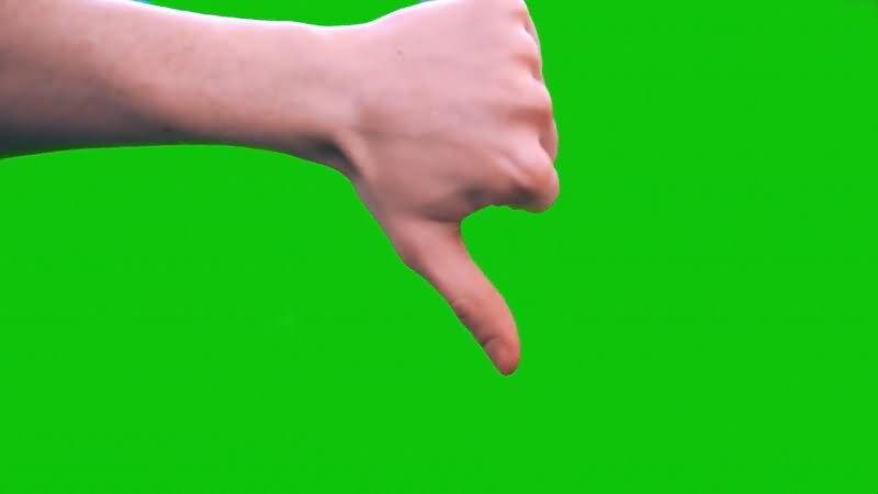 绿屏抠像冲下的大拇指手势.jpg