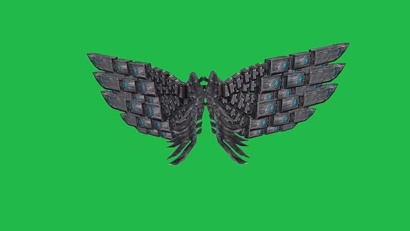 绿屏抠像钢铁机械翅膀.jpg