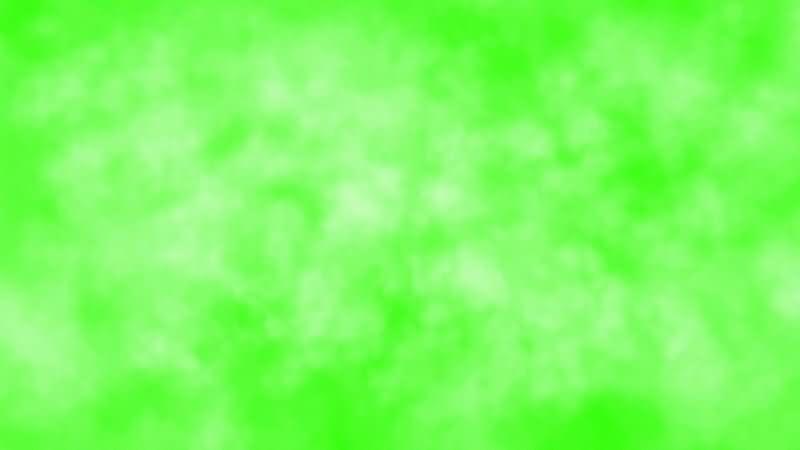 绿屏抠像空中云层视频素材