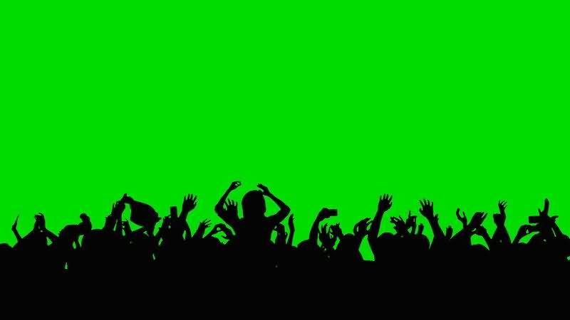 [4K]绿屏抠像欢呼的人群剪影.jpg